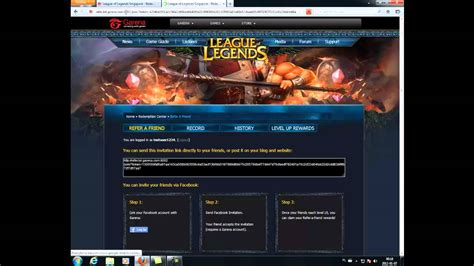 How to register at League of Legends private server