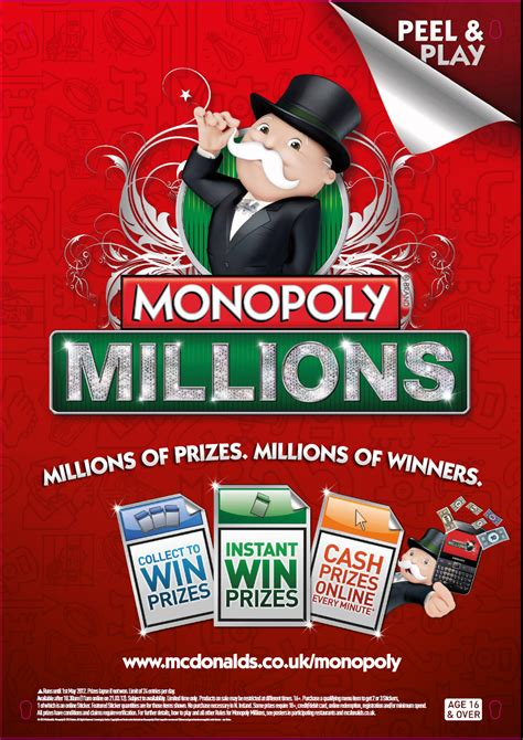 McDonald's launches Monopoly Millions with The Marketing