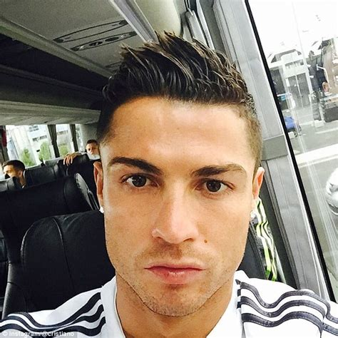 Cristiano Ronaldo has become master of the selfie on