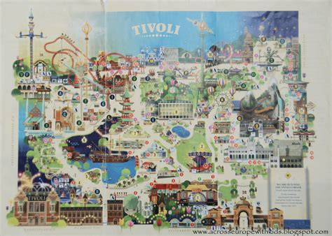 Tivoli Gardens in Copenhagen part II | Across Europe with Kids
