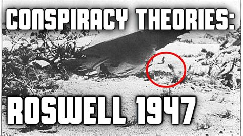 Conspiracy Theories: Roswell 1947 - YouTube