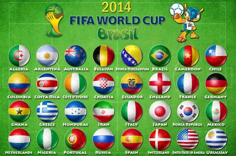 2014 Fifa World Cup Wallpapers - Digital HD Photos