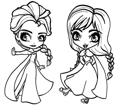 Free Printable Elsa Coloring Pages for Kids - Best