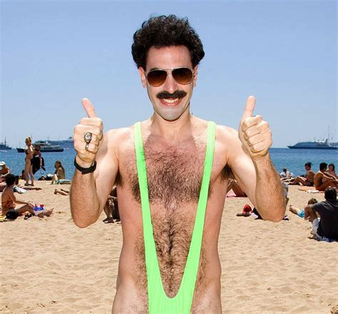 Sacha Baron Cohen offers to pay Czechs' mankini fines