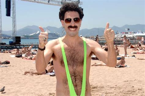 Tourists Arrested for Wearing Borat Mankinis in Kazakhstan