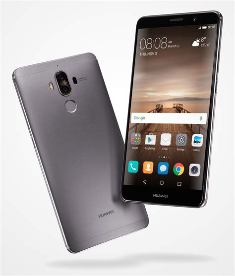 Huawei launches Mate 9 – the new smartphone era has arrived