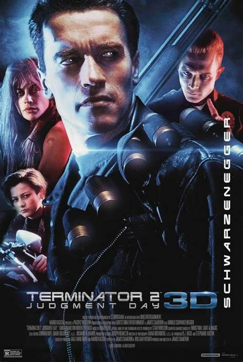 """New official 'cast poster' released for """"TERMINATOR 2"""