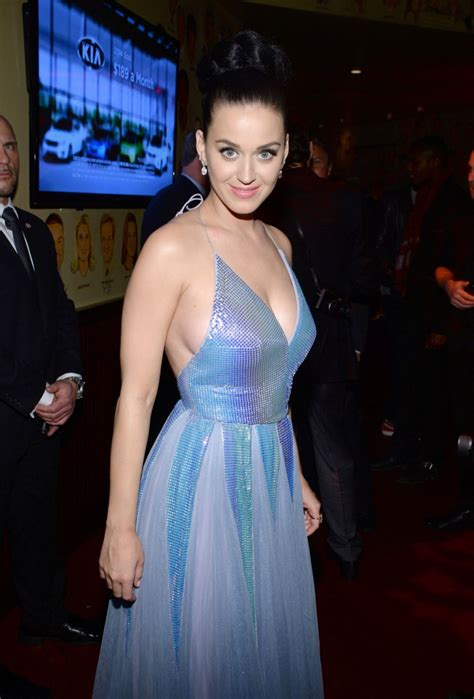 KATY PERRY at Sony Music Entertainment Post-Grammy
