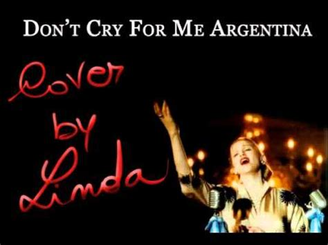 Don't cry for me Argentina - Evita - Madonna (karaoke by