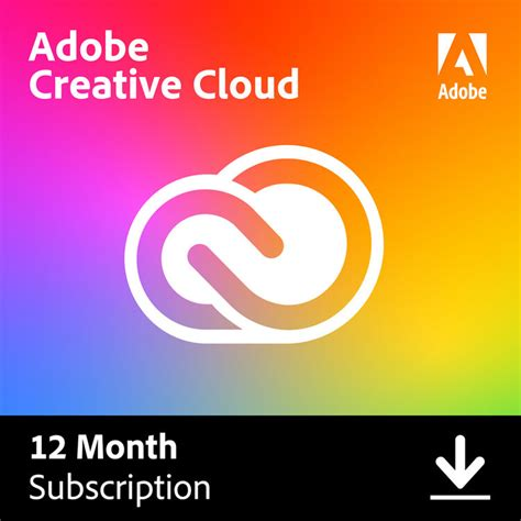 Adobe Creative Cloud (12 Month Subscription, Download