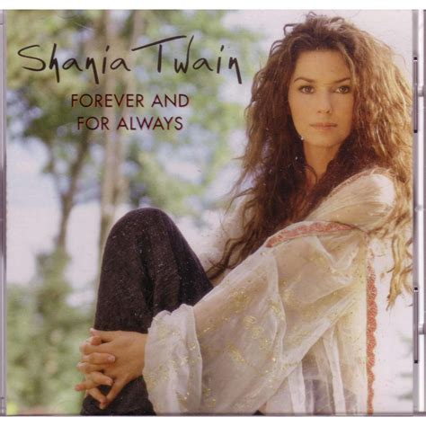 Forever and for always us promo by Shania Twain, CD with