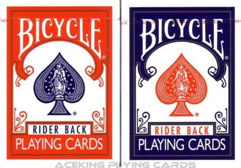 Bicycle Rider Back Playing Cards Ohio Made Deck 808 No