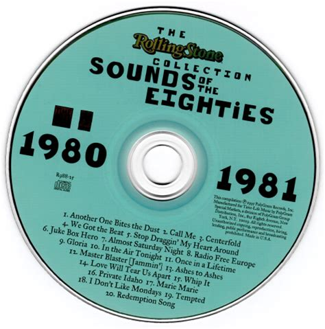 VA - Sounds Of The Eighties: The Rolling Stone Collection
