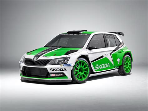Skoda Fabia R5 Shows its Competition Colors [w/Video