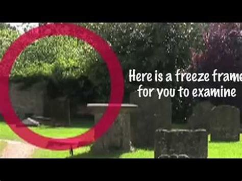 New | Ghost caught on tape England in creepy old cemetery