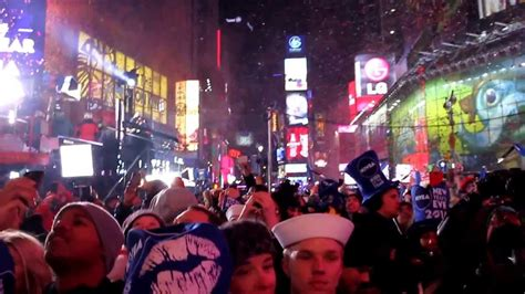 Times Square New York 2014 New Years Eve Celebration