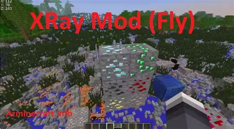 XRay Mod (Fly) for minecraft [1
