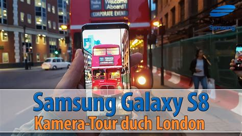 Samsung Galaxy S8 Kamera - Foto-Walk durch London [GER/4k