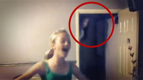SCARY VIDEOS of Ghost Caught on tape BEST REAL VIDEO - YouTube
