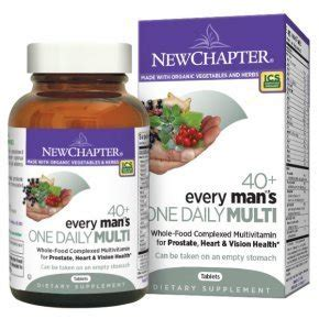 New Chapter Every Man's One Daily 40+ multivitamin - 72 db