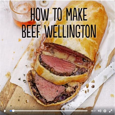 Jamie Oliver's How to make beef wellington from his