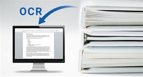 OCR Software for Scanned Document and Image Conversion