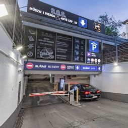 Care Park Budapest - parking in Budapest downtown