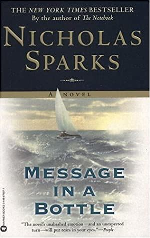 Message in a bottle book pdf free download Nicholas Sparks