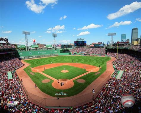 Boston Red Sox Stadium MLB Baseball Photo | Red Sox