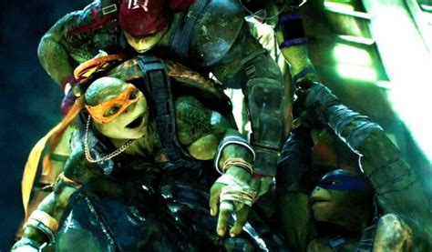 [first lines; the Turtles are training at the Chrysler