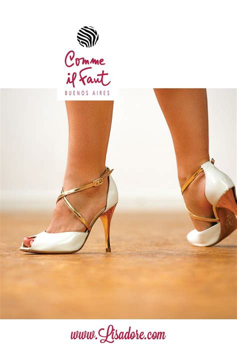 Comme il Faut Exclusive High Heel Dancing Shoes for Tango