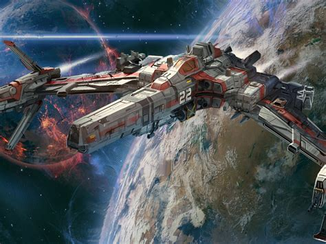 Spaceships Sci Fi, Art, Beautiful Pictures Jude Smith