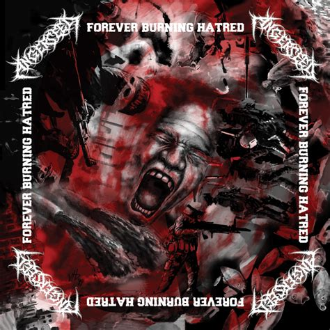 ANGERSEED - Forever Burning Hatred EP (2019) - Rozsdagyár
