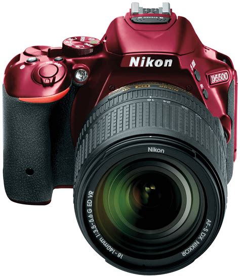 Nikon D5500 Red + AF-S DX 18-140 ED VR Black
