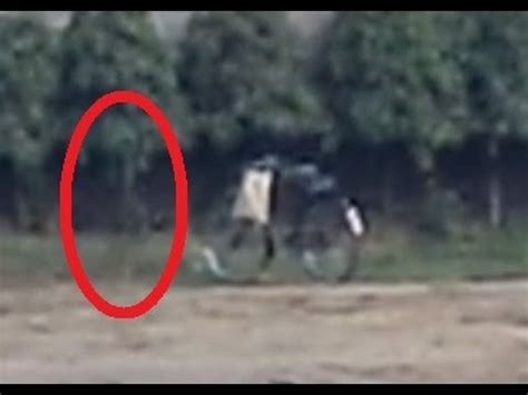 Ghost caught on camera near his cycle: REAL OR FAKE? 2014