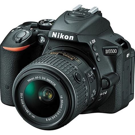 Nikon D5500 with 18-55mm VR II Lens Kit Reviews and Prices