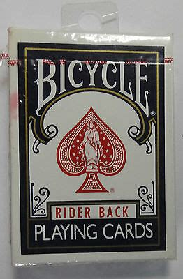 Bicycle Rider Back Playing Cards, Poker 808 (NEW SEALED
