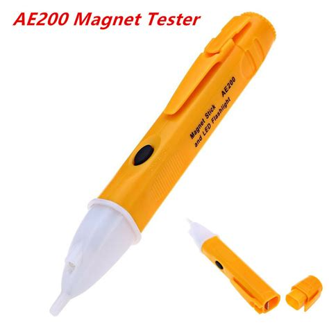 Car Magnet Tester Non-Contact Pen Magnetic Field Tester