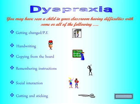 Dyspraxia   The Forever Years
