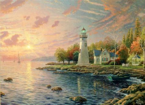 Serenity Cove Lighthouse Ceaco 1000 Piece Jigsaw Puzzle by