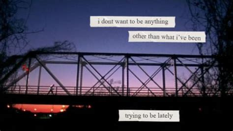 "Lyrics from the song ""I Don't Wanna Be"" (the One Tree Hill"