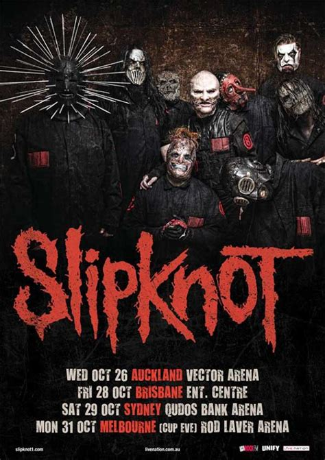 SLIPKNOT's CLOWN Forced To Miss Australian Tour Due To